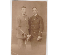 Imperial Officers Postcard