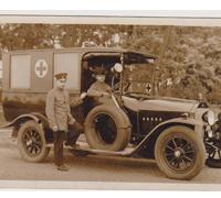 Imperial Ambulance Service Postcard