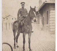 Imperial mounted Soldier Postcard