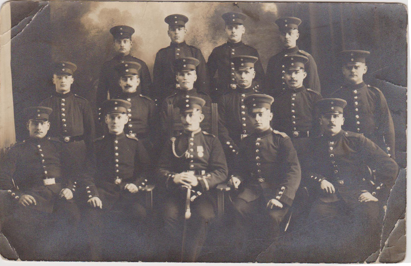 Imperial Officers Group Postcard