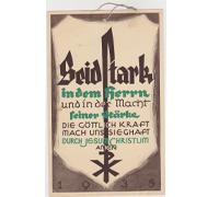 Christian Prayer Poster 1935