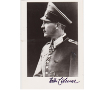 Autographed pic of Wilhelm Lehner