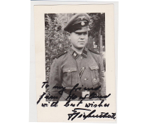 Interesting signed SS Rottenführer picture
