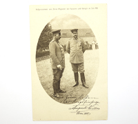 Imperial Red Cross Postcard w Kaiser