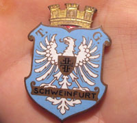 Schweinfurt Coat of Arms Pin