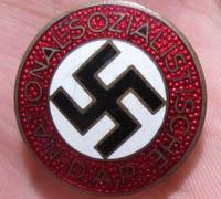 Button Hole NSDAP Membership Pin
