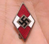 Hitler Youth Membership Pin