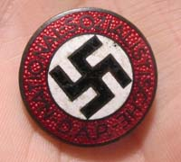 Button Hole NSDAP Membership Pin