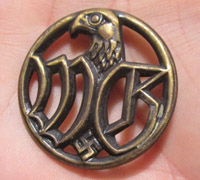 Wehrmacht 'WG' Civilian Personnel Badge