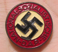 NSDAP Button Hole Membership Pin