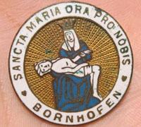 Catholic 'Sancta Maria Ora Pro Nobis' Pin