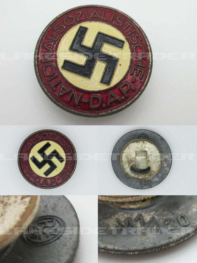Buttonhole RZM NSDAP Membership Pin
