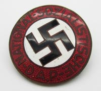 NSDAP Membership Pin by RZM M1/99