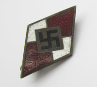 Hitler Youth Membership Pin by RZM M1/164