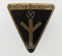 Women's Deutsches Frauenwerk Membership Pin