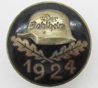 Non Combatant Der Stahlhelm Com. Badge 1924