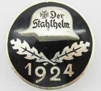 Der Stahlhelm Members Commemorative Badge 1924