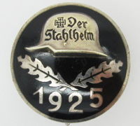 Der Stahlhelm Members Commemorative Badge 1925