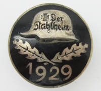 Der Stahlhelm Members Commemorative Badge 1929