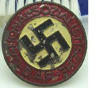 NSDAP Button Hole Membership Pin
