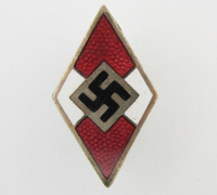 Hitler Youth Membership Pin by RZM M1/62