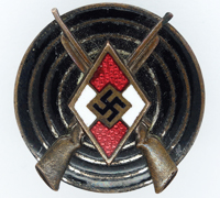 Hitler Youth Marksman Badge by S&L