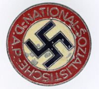 NSDAP Membership Pin by RZM M1/105
