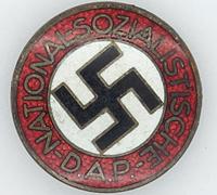 NSDAP Membership Pin by RZM M1/101