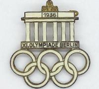1936 Olympics Enameled Pin