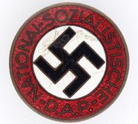NSDAP Membership Pin by RZM M1/127