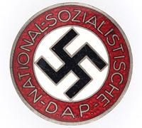 NSDAP Membership Pin by RZM M1/62