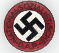 NSDAP Membership Pin by RZM M1/52