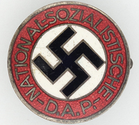 NSDAP Membership Pin by RZM M1/6