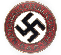 NSDAP Membership Pin by RZM M1/42