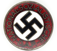 NSDAP Membership Pin by RZM M1/101