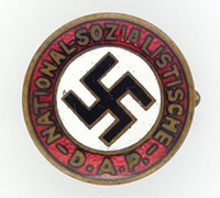 18mm NSDAP Membership Pin