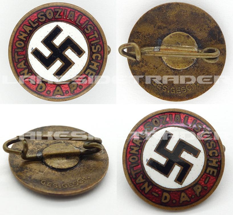 18mm NSDAP Membership Pin
