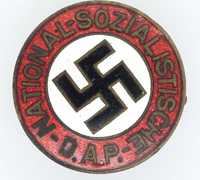 Early NSDAP Membership Pin