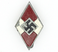 Hitler Youth Membership Pin by RZM M1/185