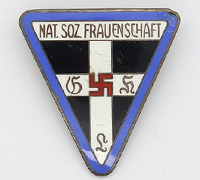 1st Pattern N.S. Fraunenschaft Staff Badge