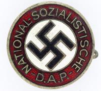 Early NSDAP Membership Pin