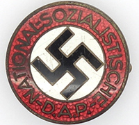 NSDAP Membership Pin by RZM M1/13