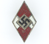 Hitler Youth Membership Pin by RZM M1/103