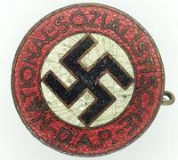 NSDAP Membership Pin by RZM M1/34