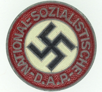 NSDAP Membership Pin by RZM M1/17