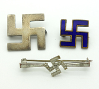 Swastika Pins