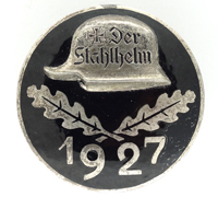 Stahlhelmbund Membership Badge 1927