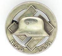 NSD FBSt Stahlhelm Pin