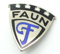 FAUN Emblem Pin