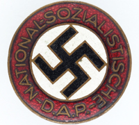 Buttonhole - NSDAP Membership Pin by RZM M1/72
